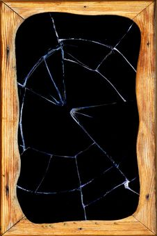 Free Window  Glass   Hole  Broken Stock Photos - 18684543