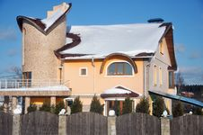 Beautiful Modern Cottage Stock Photos