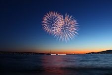 Free Firework Bursts Stock Photos - 18685293