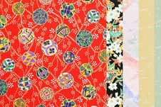 Japanese Traditional Pattern Royalty Free Stock Photo