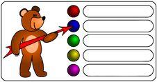 Free Bear With Arrow Stock Photo - 18685640