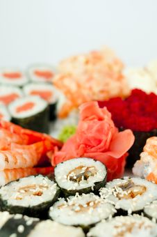 Free Sushi-roll Stock Images - 18686694