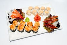 Free Sushi-roll Royalty Free Stock Image - 18687016