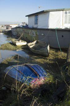 Free Houseboat Stock Image - 18687111