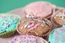 Free Cupcakes Stock Photography - 18687302