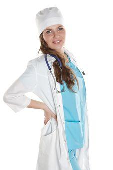 Free Happy Doctor Portrait Stock Image - 18687441