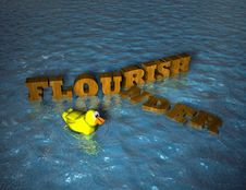 Flourish Or Flounder Royalty Free Stock Photo