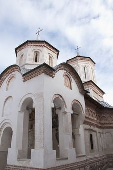 Free Monastery In Romania Stock Image - 18687901