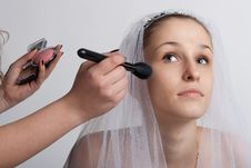 Free Bride Make-up Stock Photo - 18688120