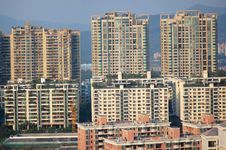 Free Residential Buildings Royalty Free Stock Image - 18688146