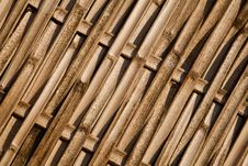 Free Bamboo Panel Royalty Free Stock Image - 18688456