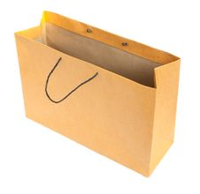 Free Brown Paper Bag Royalty Free Stock Images - 18688689