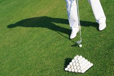 Free Golfer Royalty Free Stock Photos - 18688918