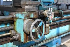 Free Lathe Royalty Free Stock Photo - 18688955