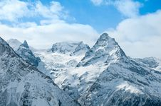 Winter In Mountains. Stock Photography