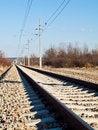 Free Train Rails Royalty Free Stock Photos - 18691498