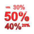 Free Discount Fifty Percent Stock Image - 18695091