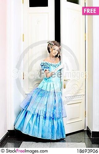 Festive dress Stock Photo