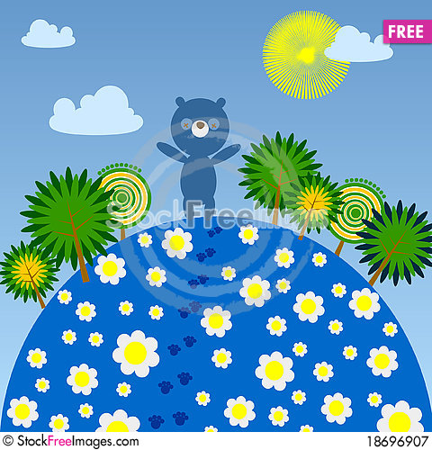 Free Happy Summer Day Royalty Free Stock Photography - 18696907