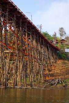 Mon Bridge Stock Photo