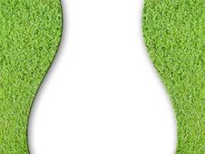 Free Lady Curve And Green Grass Stock Photography - 18690022