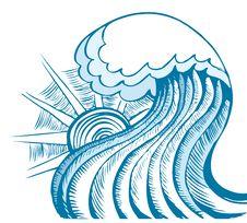 Free Sea Waves. Stock Photography - 18690532