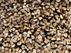 Free Stack Of Wood Stock Images - 18691294