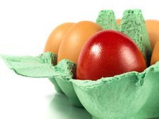 Free Lonely Easter Egg Royalty Free Stock Images - 18691299