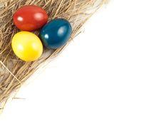 Free Three Easter Eggs Stock Photos - 18691313