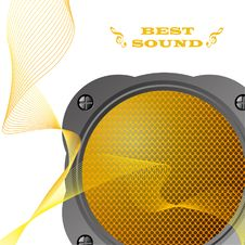 Free Loudspeaker. Stock Photography - 18691392
