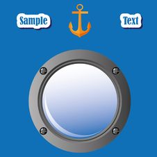 Free Porthole Royalty Free Stock Photo - 18691395