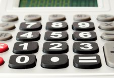 Free Electronic Calculator Royalty Free Stock Photo - 18691625