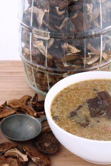 Free Mushroom Soup Royalty Free Stock Photo - 18691755