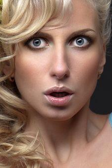 Free Surprised Blonde Stock Photos - 18692233