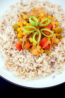 Free Appetizing Rice Dish Stock Image - 18692441