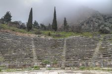 Free The Ancient Theatre At Delphi Stock Photography - 18692922