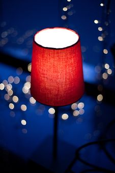 Free Red Lamp Stock Images - 18693074