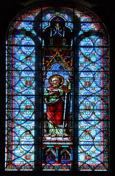 Free Stained Glass St. Paul Stock Image - 18693091