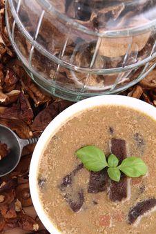 Free Mushroom Soup Stock Image - 18693841