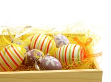 Free Beautiful Easter Eggs Stock Images - 18693854