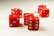Free Roll The Dice Stock Photography - 18694072