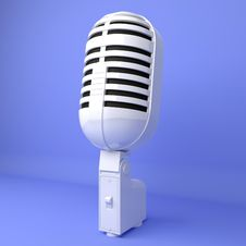Free Microphone Royalty Free Stock Photos - 18694688