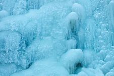 Free Icicles Of Frozen Waterfall Stock Image - 18694931