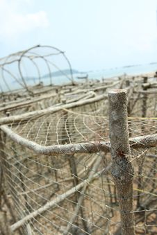 Free Close-up Fish Traps Royalty Free Stock Photo - 18695015