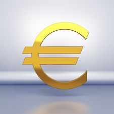 Free Sign Of Euro Royalty Free Stock Images - 18695119