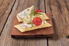 Free Crispbread And Cheese Stock Photo - 18695960