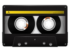 Free Vector Audio Cassette Stock Images - 18695984