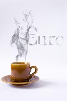 Cup With Smoke Euro Shape