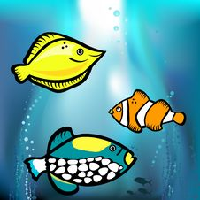 Free Fish Graphic Stock Images - 18697214