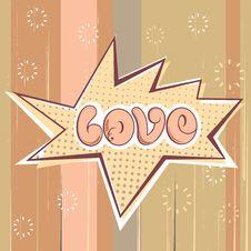 Free Love Design Royalty Free Stock Photo - 18697255